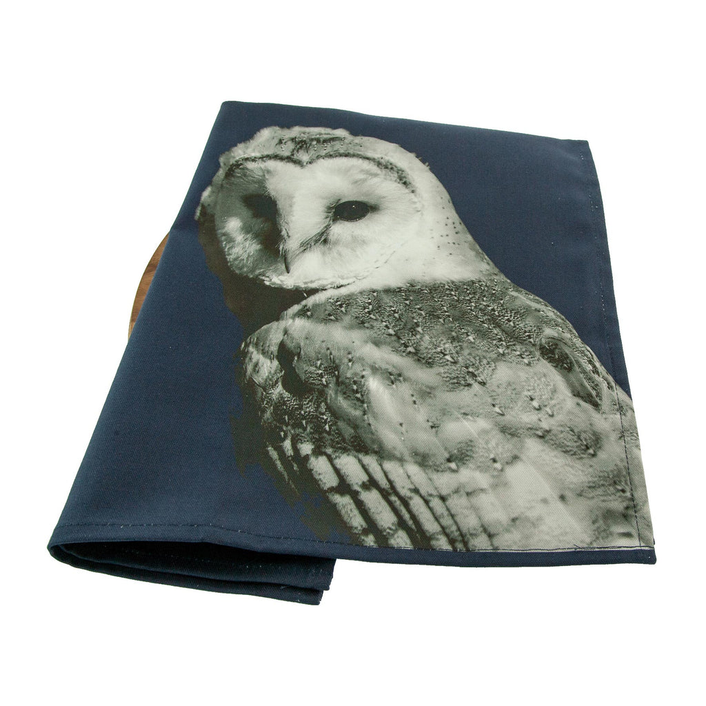 Barn Owl Tea Towel