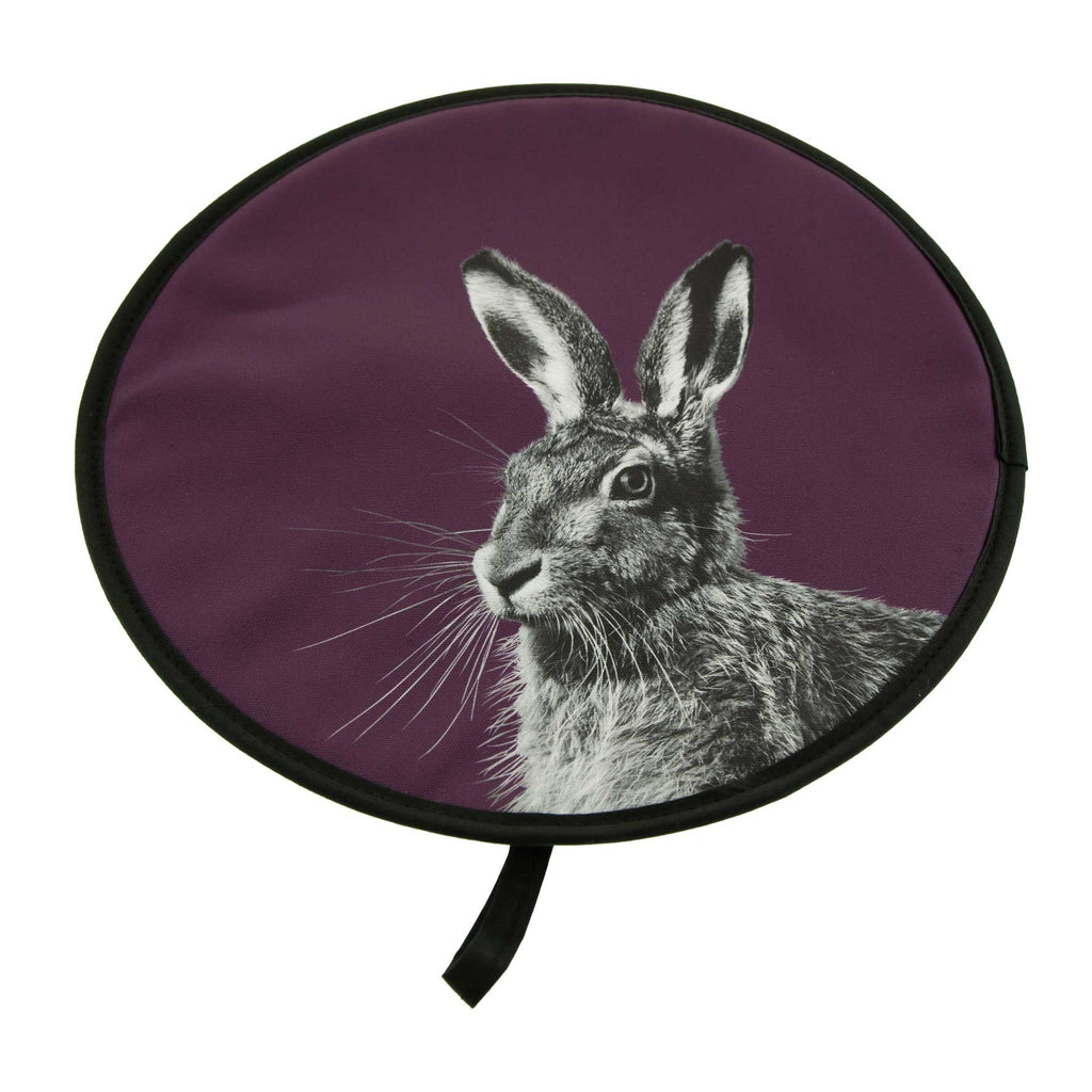 Hare Chefs Pad - Claret