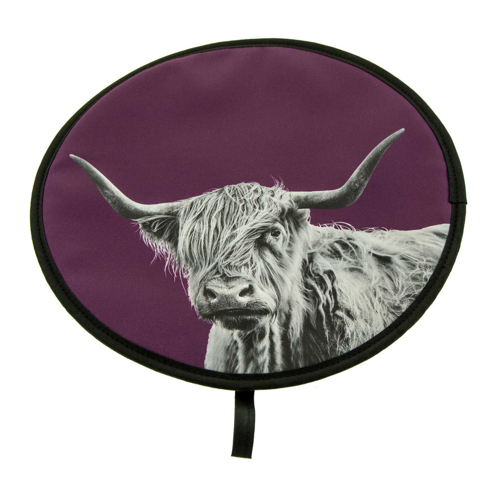Highland Cow Chefs Pad
