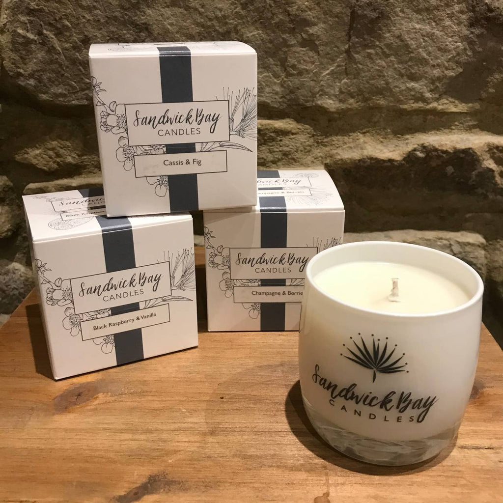 Sandwick Bay Candles - Glass - Collection