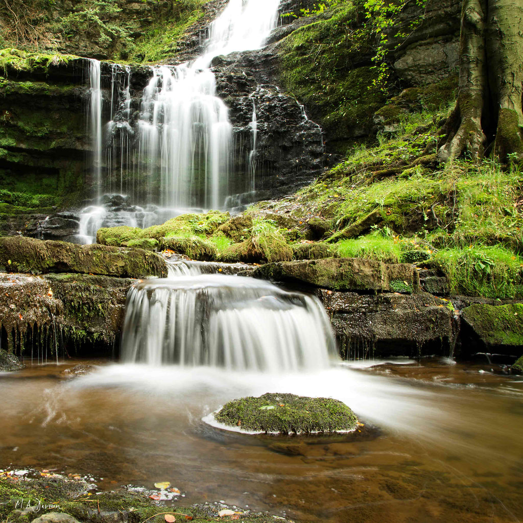 Scaleber Force Waterfall, Yorkshire Dales - Landscape Photography - Print