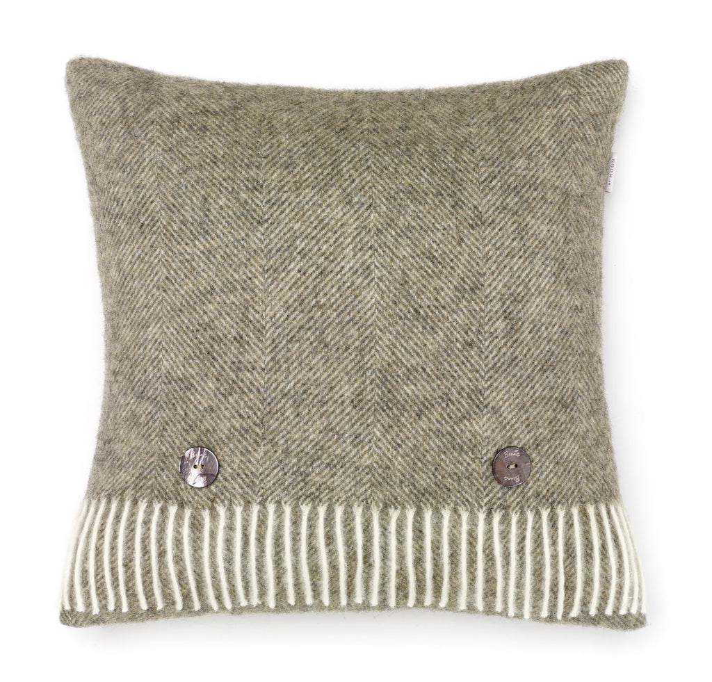 Bronte by Moon Vintage Grey Cushion
