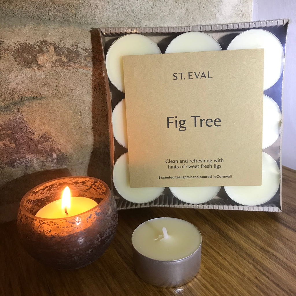 St Eval Tea Lights - Fig Tree