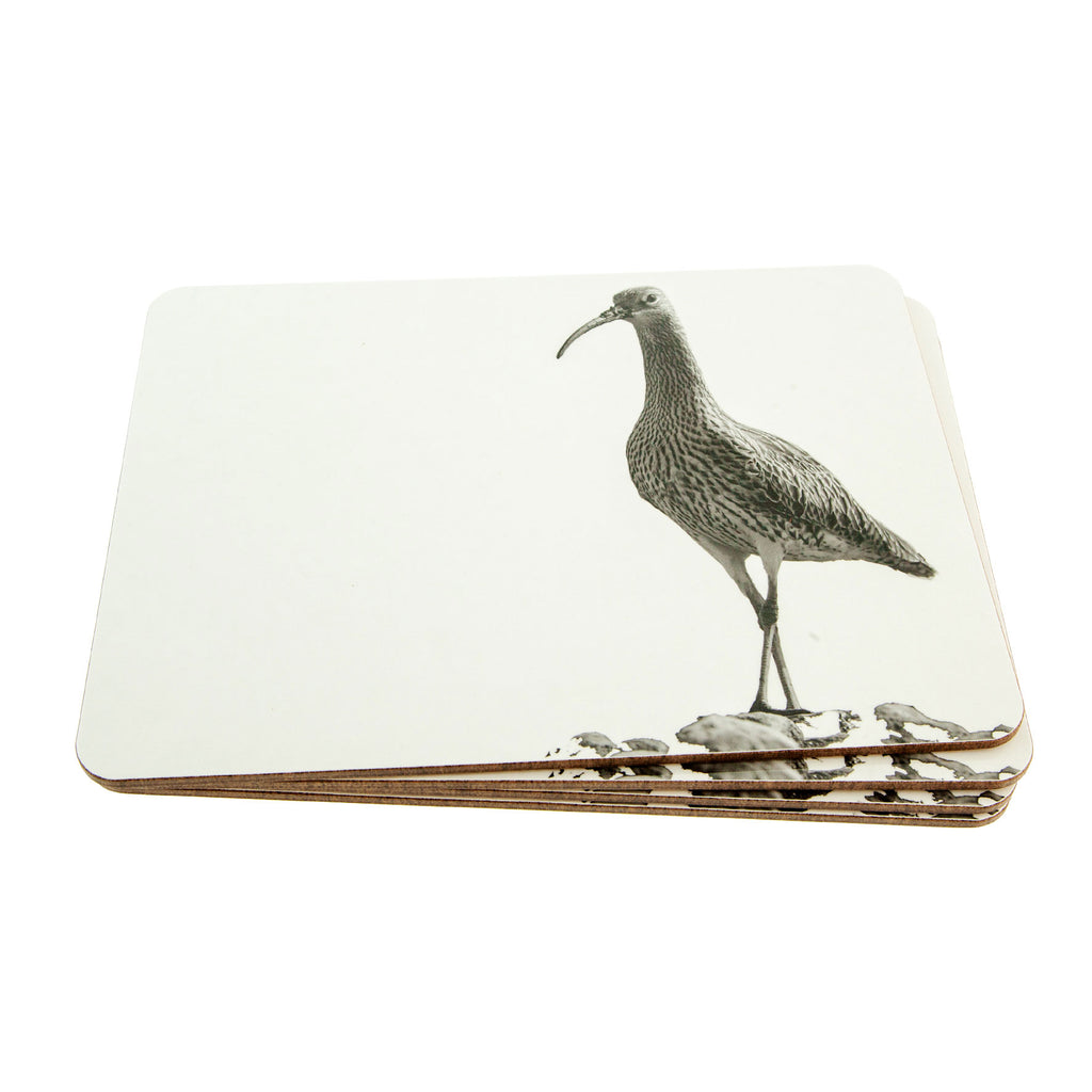 Placemat - curlew - white