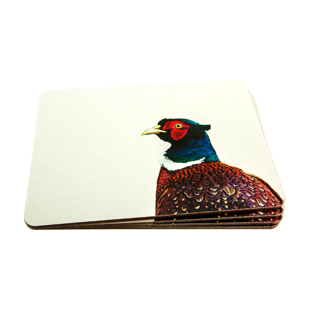 Pheasant placemat - colour