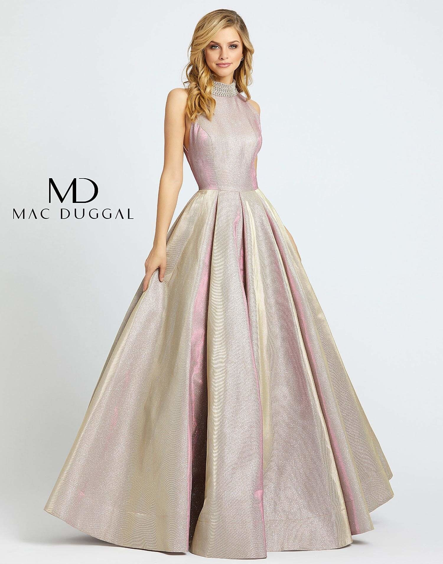 Pretty In Pink Ball Gown