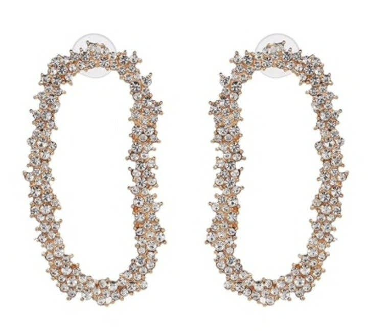 Crystal Garland Drop Earrings