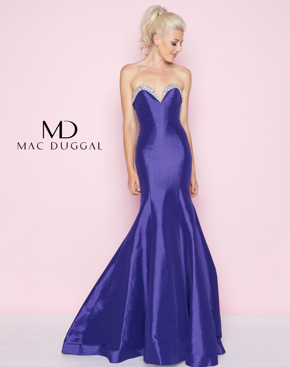 Royal Bustier Gown