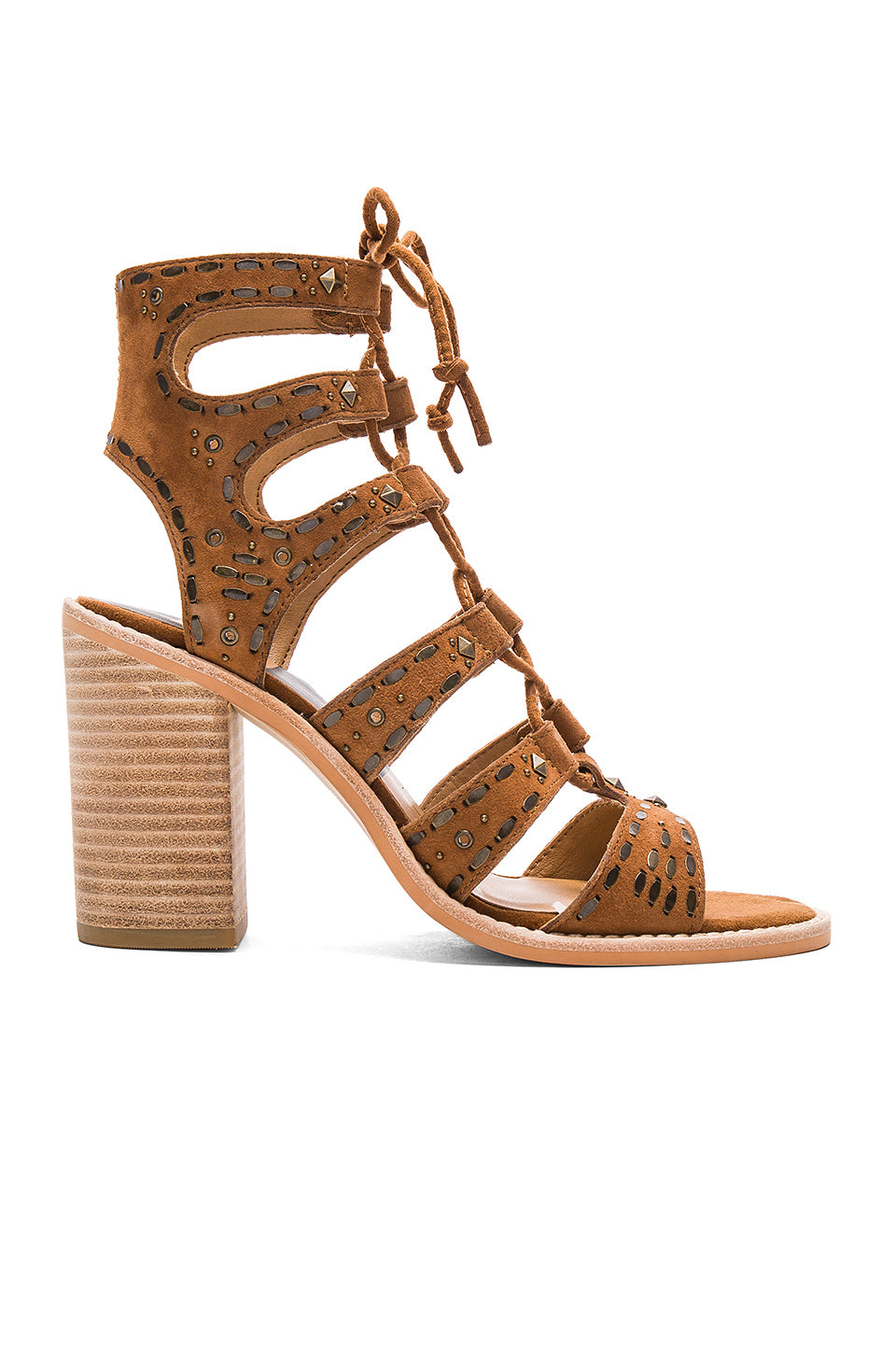 Lyndie Lace Up Heels
