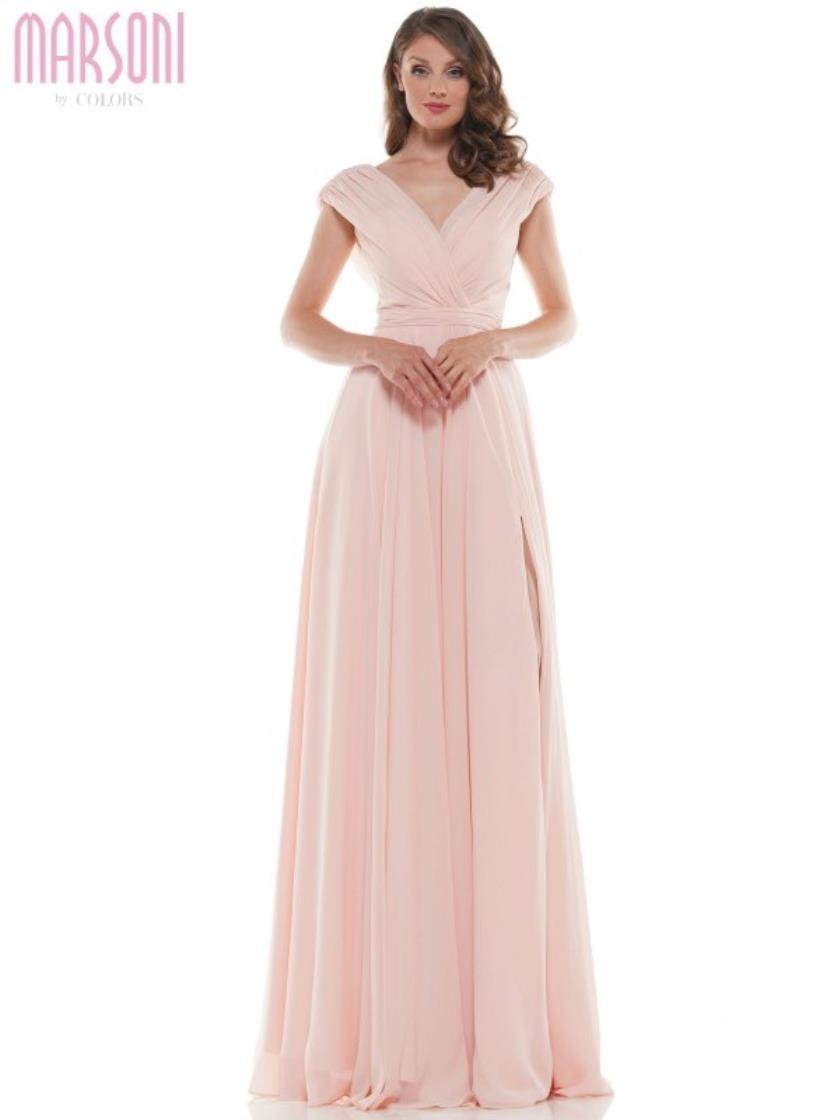 Simple Chiffon Gown