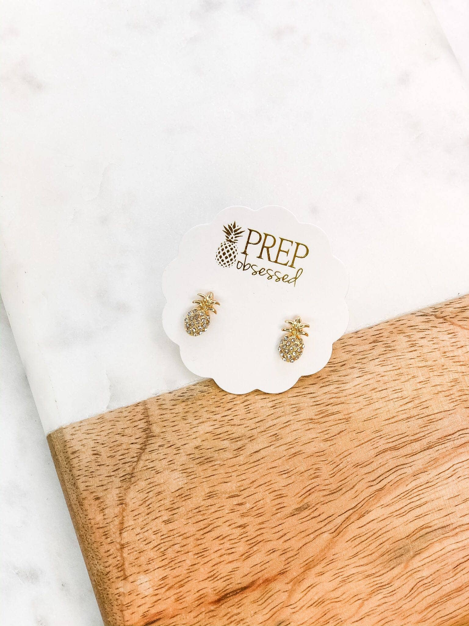 Mini Pineapple Stud Earrings