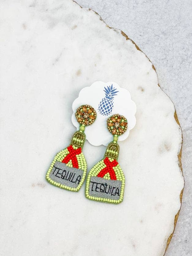 Tequila Beaded Earrings