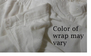Plus Size Spa Wrap 1X-6X Womens Luxury Spa Shower Bath Dorm Gym Wrap Swim Cover Up Cotton Terry Velour with Snaps Fits 1X 2X 3X 4X 5X 6X Media 1 of 10