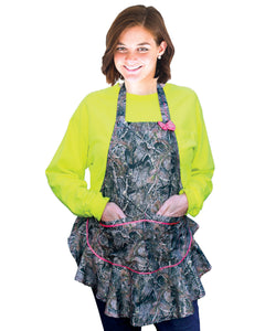 pink camo realtree mossy oak muddy girl true timber lady camo camouflage apron for women