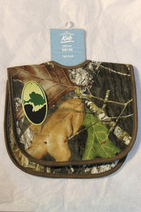 Mossy Oak Camo Baby Bibs 2PC Set MO Break Up Camouflage OSFM babies 3M-2T