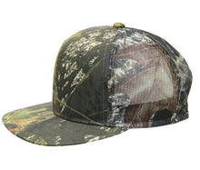 Load image into Gallery viewer, Mossy Oak Realtree Edge Break Up Blaze Orange Camo Truck Trucking Trucker Hat Cap Sweatband Mesh Snap Back Curved Flat Brim Camo Cap Hat Visor