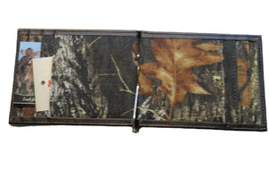 Realtree Mossy Oak Camo Front Pocket Wallet with Clever Money Clip Lightweight Bifold
