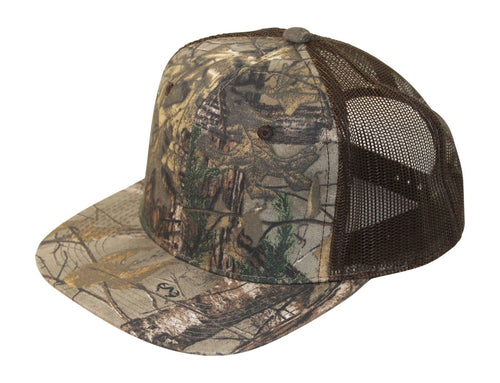 Mossy Oak Realtree Edge Break Up Blaze Orange Camo Truck Trucking Trucker Hat Cap Sweatband Mesh Snap Back Camo Cap Hat Visor