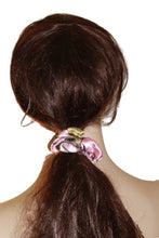 Load image into Gallery viewer, Realtree Pink Camo Scrunchie SATIN Ponytail Holder Elastic Tie Hair Band