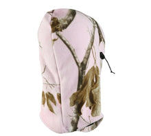 Load image into Gallery viewer, Realtree Pink Camo Fleece Facemask Balaclava Neck Gaiter Cold Weather Hunting Hat Cap