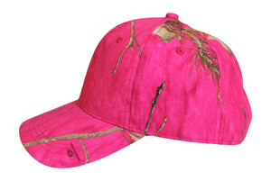 womens ladies mossy oak realtree girl hot muddy girl blaze inferno pink camo camouflage hat cap visor hoodie jacket fishing hunting camping hat cap