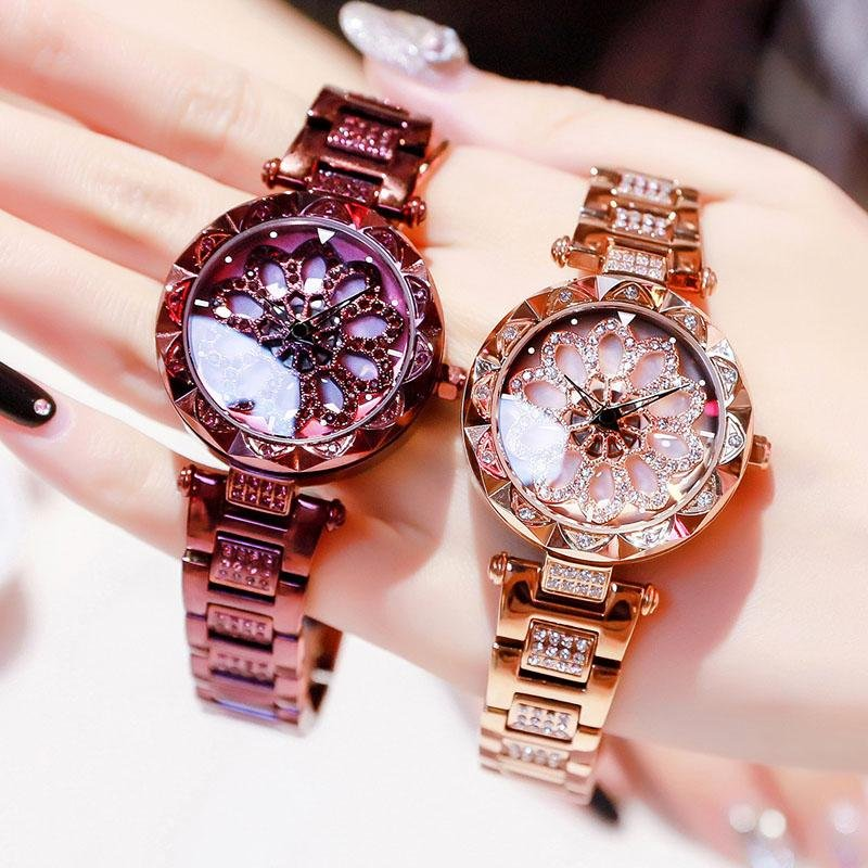 2020 New Rotation Starry Sky Diamond Watch 50% off Today rockiyo