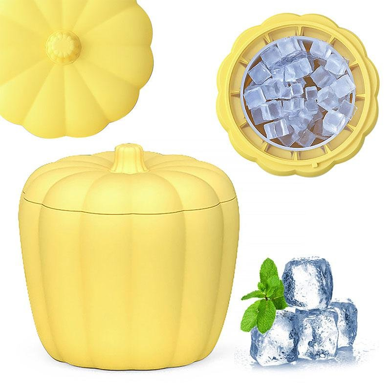 Ice Cube Maker New & Improved 60 Cubes rockiyo