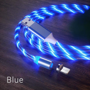 LED  Streamer Magnetic CHARGING CABLE rockiyo