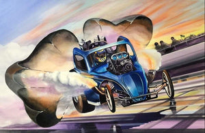 Ron Capps Autographed and Numbered Fuel Altered Limited Edition Poster