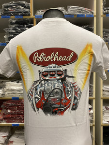 Petrolhead Hemi Men's Tee White
