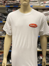 Load image into Gallery viewer, Men's White Petrolhead Front Engine Dragster Tee
