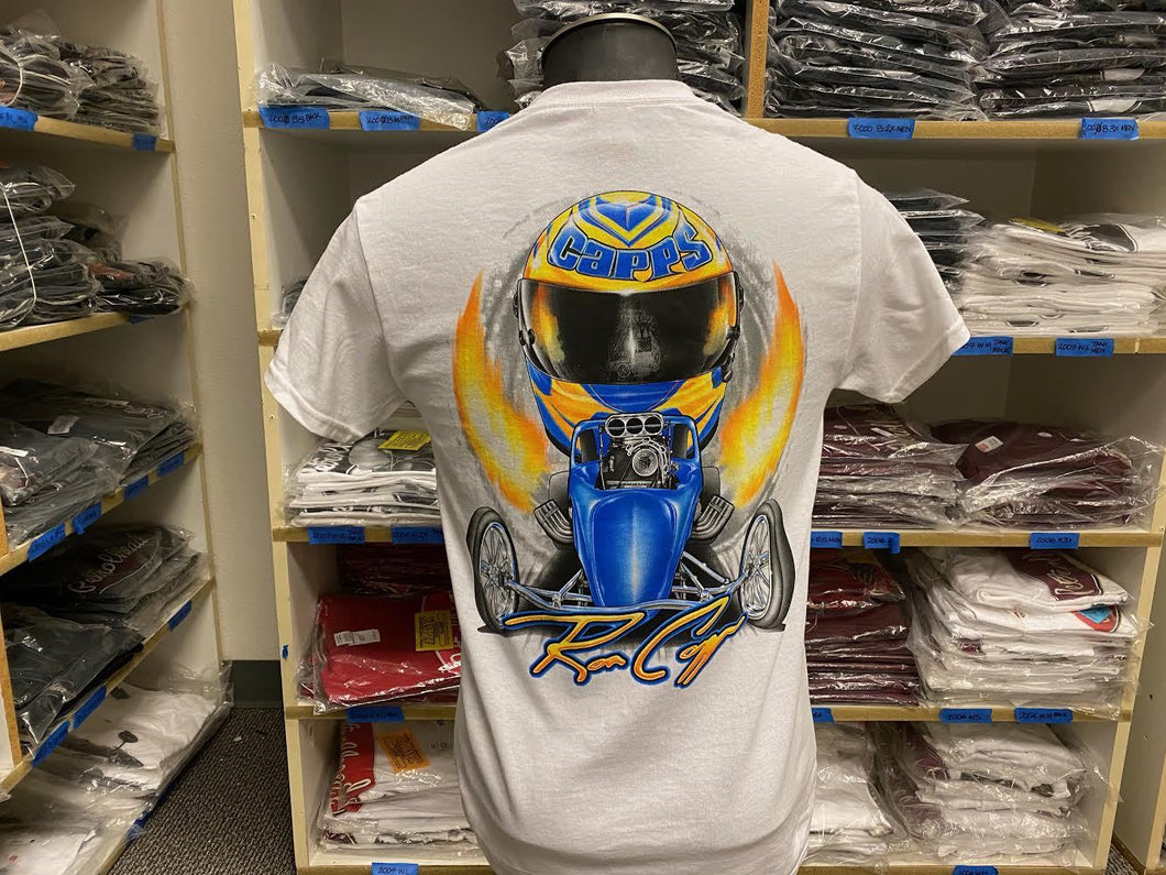 Ron Capps Fuel Altered Men's Tee White