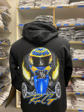 Load image into Gallery viewer, Ron Capps Fuel Altered Hoodie Black