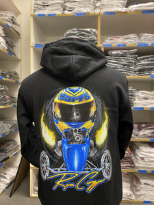Ron Capps Fuel Altered Hoodie Black