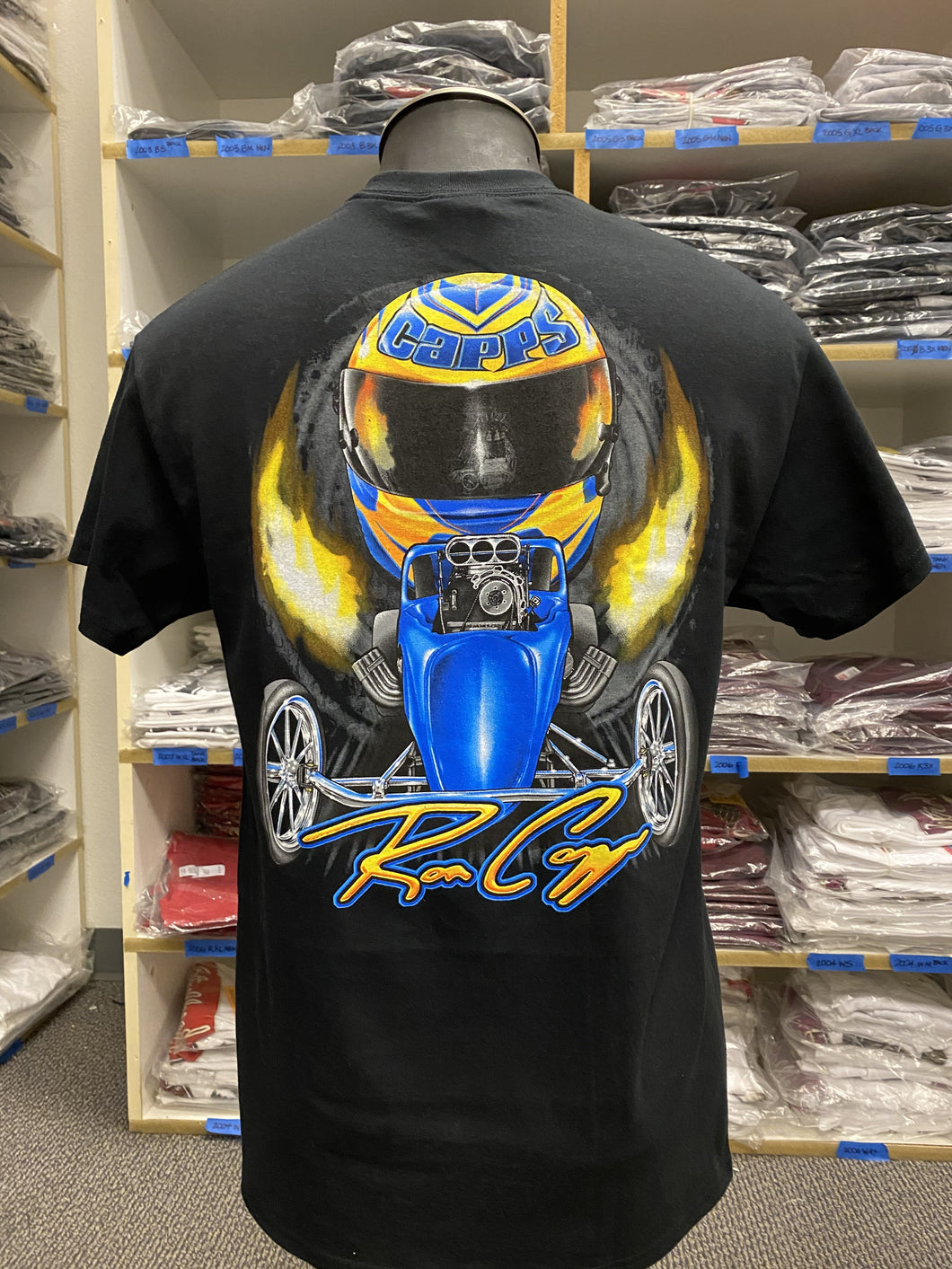 Ron Capps Fuel Altered Men's Tee Black