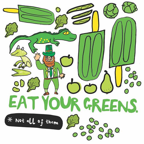 Eat Your Greens Design