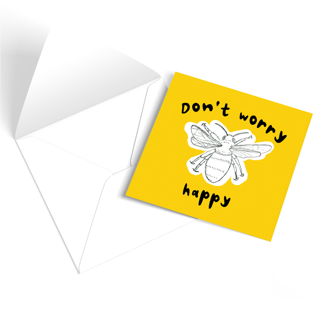 Bee Happy! Greetings Card