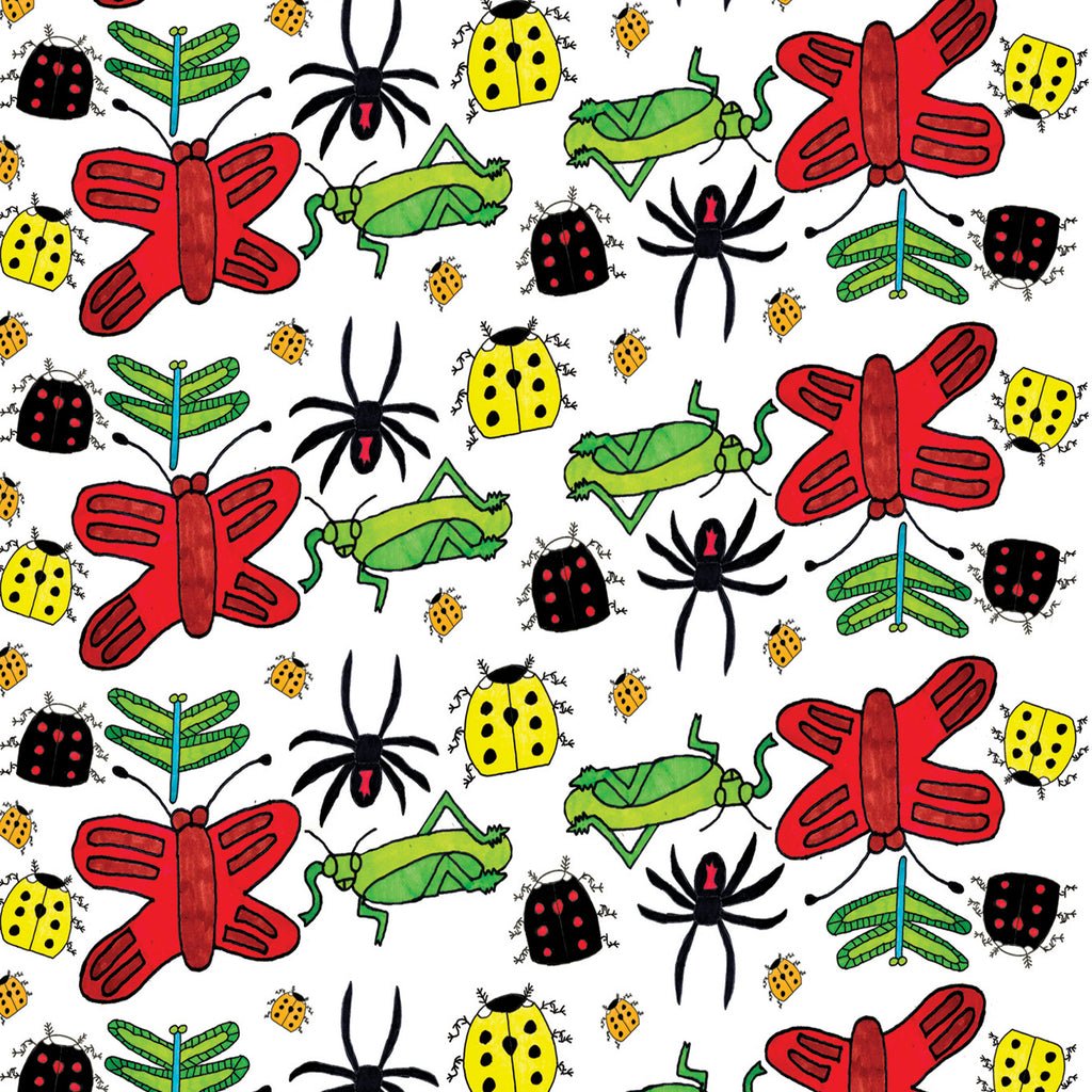 BUGS! Greetings Card