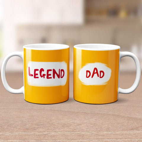 'Dad - Legend' Mug