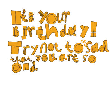 'It's Your Birthday!!' Greetings Card