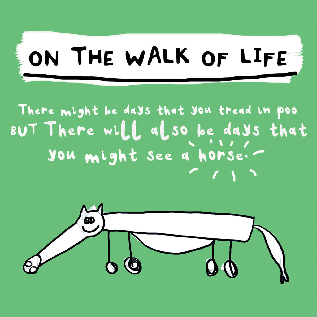 Walk of Life Greetings Card