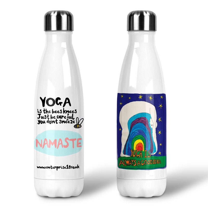Namaste Yoga Water Bottle