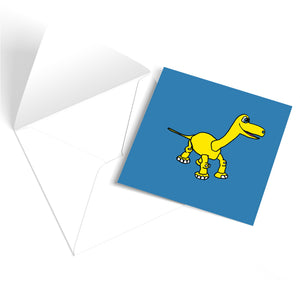 Cute Dinosaur Greetings Card