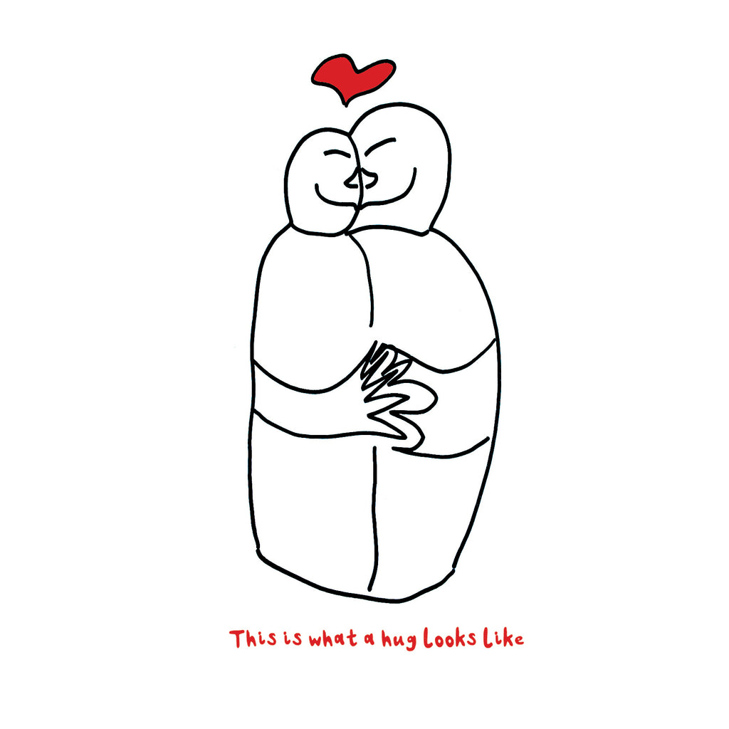 'This is What a Hug Looks Like' Empathy Card