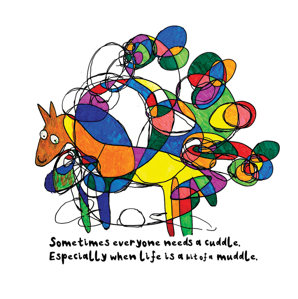 'Sometimes Everyone Needs A Cuddle' Empathy Card