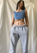 Load image into Gallery viewer, Denim Princessa Top in Washed Down Indigo