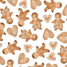 Load image into Gallery viewer, Gingerbread Christmas Wrapping Paper