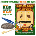 Sherlock Bones 10 Pack + Guide & Tools