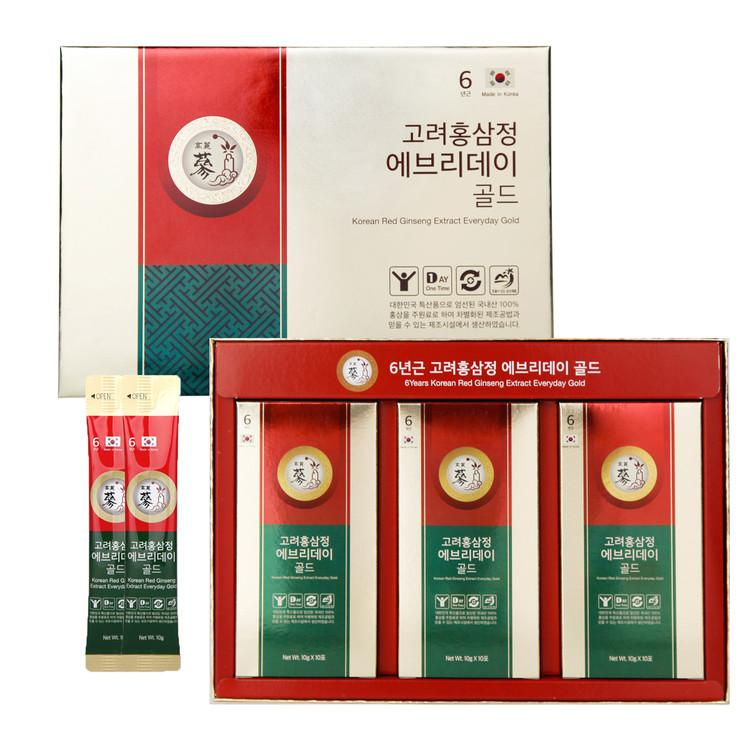 6 Years Korean Red Ginseng Extract (30 Stick Gift Box) | CNY Pre-Order