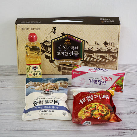 Premium Korean Pancake Mix Gift Set | Baeksul